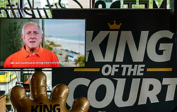 Video message from Dr. Ary S. Graça, President of the International Volleyball Federation during the press presentation King of the Court 2020. The first internationally appealing sports event in the Netherlands since the corona pandemic will be held from Wednesday 9 to Saturday 12 September on Jaarbeursplein in Utrecht.