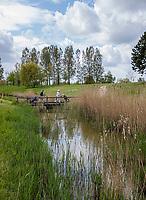 GOES - brug hole 9 , Golfbaan De Goese Golf,   op Zuid-Beveland, COPYRIGHT  KOEN SUYK
