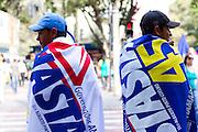 Belo Horizonte _MG, 26 de Julho de 2010..Campanha Antonio Anastasia ao Governo de Minas 2010..Bandeiraco na Praca Sete..Foto EMMANUEL PINHEIRO/NITRO