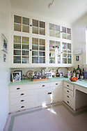 The Portland, Oregon home of Wendy Burden, author of  the memoir, Dead End Gene Pool.  The pantry off the kitchen which joins to the dining room.