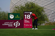 Niklas Lemke (SWE) on the 18th during Round 1 of the Commercial Bank Qatar Masters 2020 at the Education City Golf Club, Doha, Qatar . 05/03/2020<br /> Picture: Golffile   Thos Caffrey<br /> <br /> <br /> All photo usage must carry mandatory copyright credit (© Golffile   Thos Caffrey)