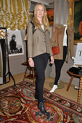 ROSIE RUCK KEENE at a ladies lunch hosted by Katie Readman for sisters Lucia & Rosie Ruck Keene founders of a new fashion label - Troy, held at 5 Hertford Street, London on 27th January 2015.