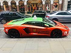 The fastest learner car in London a 280k Lamborghini Aventador - 15 Jan 2019