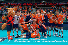 20190913 NED: EC Volleyball 2019 Netherlands - Montenegro, Rotterdam