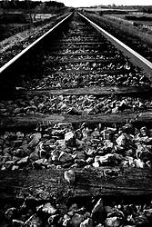 Reportage sul comune di Alessano per il progetto propugliaphoto..Binari della ferrovia sud est..Macurano è un villaggio rupestre considerato un luogo di scambio e commercio, simbolo della cultura dell'olio per la presenza ad oggi di alcune tracce nelle grotte e di frantoi funzionanti nella zona. L'insediamento è caratterizzato da una serie di grotte sia naturali che scavate nel calcare, cisterne per la raccolta dell'acqua, sistemi di canalizzazione che scendono da Montesardo, viottoli, scalette e vie più larghe con antiche tracce di carri..Si ritiene che in questo sito, un vero e proprio centro abitato ben organizzato distante circa quattro km dalla costa, i monaci basiliani scappati dall'oriente in seguito alla lotta iconoclasta, trovarono rifugio e si dedicarono all'agricoltura..L'area del villaggio rupestre fu sicuramente sfruttata in epoche successive, lo prova l'esistenza di ben tre masserie di cui una fortificata e i resti di una serie di costruzioni che fanno parte dei numerosi esempi di architettura rurale presenti in questo territorio. .Il complesso masserizio, denominato Macurano, edificato probabilmente nel Cinquecento include la Masseria di Santa Lucia e la cappella di Santo Stefano. La Masseria è dominata dal nucleo originario, ovvero dalla torre cinquecentesca coronata da beccatelli a sostegno del parapetto aggettante del terrazzo sommitale.