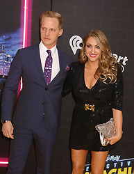 May 2, 2019 - New York City, New York, U.S. - Actor CHRIS GEERE and GUEST attend the US premiere of Pokemon Detective Pikachu held at Military Island Times Square. (Credit Image: © Nancy Kaszerman/ZUMA Wire)
