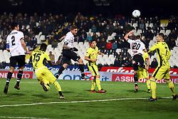 """Foto Filippo Rubin<br /> 06/03/2018 Cesena (Italia)<br /> Sport Calcio<br /> Cesena - Pro Vercelli - Campionato di calcio Serie B ConTe.it 2017/2018 - Stadio """"Dino Manuzzi""""<br /> Nella foto: GOAL DI NOIA GIOVANNI (CESENA)<br /> <br /> Photo by Filippo Rubin<br /> March 06, 2018 Cesena (Italy)<br /> Sport Soccer<br /> Cesena - Pro Vercelli - Italian Football Championship League B 2017/2018 - """"Dino Manuzzi"""" Stadium <br /> In the pic: GOAL DI NOIA GIOVANNI (CESENA)"""