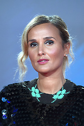 Julia Ducournau attending the Titane Premiere as part of the 65th BFI London Film Festival at the Royal Festival Hall in London, England on October 09, 2021. Photo by Aurore Marechal/ABACAPRESS.COM