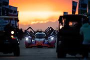 March 20, 2021. IMSA Weathertech Mobil 1 12 hours of Sebring:   #52 PR1 Mathiasen Motorsports, ORECA LMP2 07, LMP2: Ben Keating, Mikkel Jensen, Scott Huffake