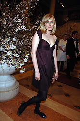 SOPHIE DAHL at the Feast of Albion a sumptious locally-sourced banquet in aid of The Soil Association held at The Guildhall, City of London on 12th March 2008.<br />