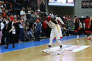 Basketball: Supercup, Deutschland - Russland, Hamburg, 18.08.2017<br /> Dennis Schroeder (GER)<br /> <br /> © Torsten Helmke