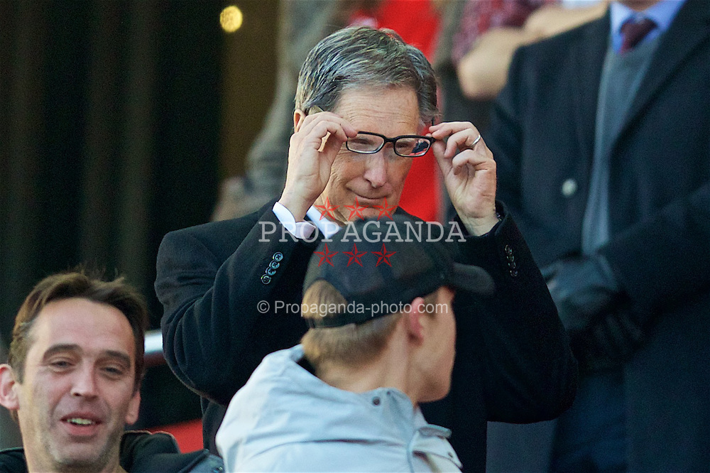 LIVERPOOL, ENGLAND - Saturday, November 26, 2016: Liverpool's owner John W. Henry before the FA Premier League match against Sunderland at Anfield. (Pic by David Rawcliffe/Propaganda)