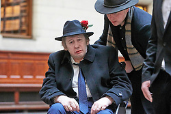 EXCLUSIVE: **WEB EMBARGO UNTIL 7pm GMT 26th Nov** Pogues singer Shane McGowan gets married to Victoria Mary Clarke at Copenhagen City Hall. Johnny Depp was one of the guest at the wedding in Denmark. 26 Nov 2018 Pictured: Pogues singer Shane McGowan gets marries to Victoria Mary Clarke at Copenhagen City Hall. Johnny Depp was one of the guest at the wedding in Denmark. Photo credit: Aller/MEGA TheMegaAgency.com +1 888 505 6342