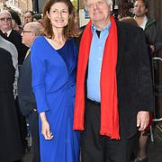 Nicole Farhi, David Hare Arrivals at Man of La Mancha, at London Coliseum on 30 April 2019, London, UK.