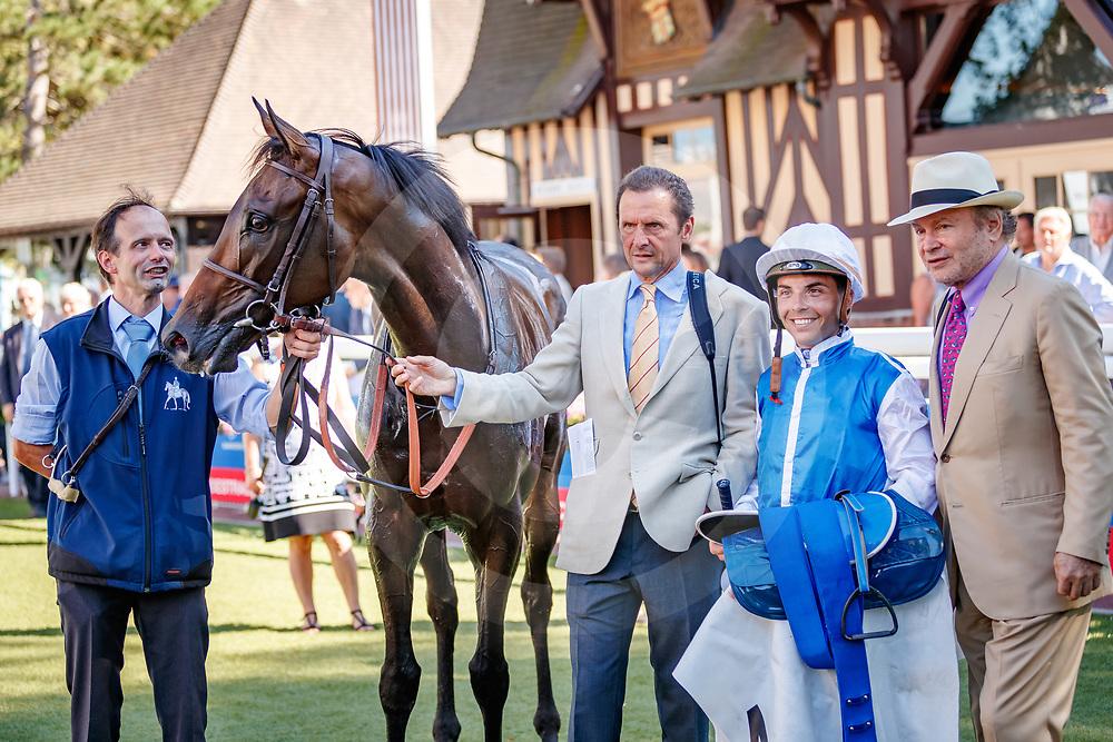 Ziyad (M. Guyon) wins Prix Haras El Paraiso - Prix Michel Houyvet Listed in Deauville, 05/08/2018, photo: Zuzanna Lupa