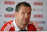 31 May 2013; British & Irish Lions assistant coach Andy Farrell during a press conference ahead of their game against Barbarian FC on Saturday. British & Irish Lions Tour 2013, Press Conference, Grand Hyatt Hotel, Hong Kong, China. Picture credit: Stephen McCarthy / SPORTSFILE