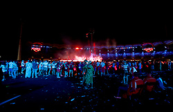 A general view of the crowd during the Closing Ceremony for the 2018 Commonwealth Games at the Carrara Stadium in the Gold Coast, Australia.