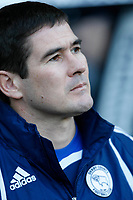Photo: Steve Bond/Richard Lane Photography. Derby County v Blackpool. Coca-Cola Championship. 26/12/2009. Nigel Clough watches his Derby side lose at home