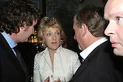 TRISTRAN DAVIES, FIONA SHAKLETON AND SIMON KELNER, The launch of ' Cooler, Faster, More Expensive, - the Return of the Sloane Ranger. By Peter York and Olivia Stewart-Liberty. Kitts. 7-12 Sloane sq. London. 15 October 2007. -DO NOT ARCHIVE-© Copyright Photograph by Dafydd Jones. 248 Clapham Rd. London SW9 0PZ. Tel 0207 820 0771. www.dafjones.com.