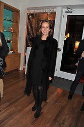 CAROLINE MICHEL at the Linley Christmas Party held at Linley, 60 Pimlico Road, London on 16th November 2011.