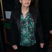 London,England, UK : 25th April 2016 : Cherie Blair attend the Doctor Faustus – Gala Opening Night at the Duke of York's Theatre, St Martin's Lane , London. Photo by See Li