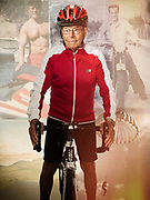 90 year old cyclist rides his bike 150 miles a week.