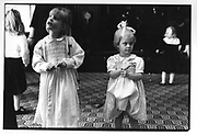Chloe Delevigne; Poppy Delevigne, e at the Birthright Childrens Ball Sussex Place 19/12/88 .ONE TIME USE ONLY - DO NOT ARCHIVE  © Copyright Photograph by Dafydd Jones 66 Stockwell Park Rd. London SW9 0DA Tel 020 7733 0108 www.dafjones.com