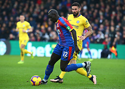 December 30, 2018 - London, England, United Kingdom - London, England - 30 December, 2018.Crystal Palace's Manadou Sakho.during Premier League between Crystal Palace and Chelsea at Selhurst Park stadium , London, England on 30 Dec 2018. (Credit Image: © Action Foto Sport/NurPhoto via ZUMA Press)