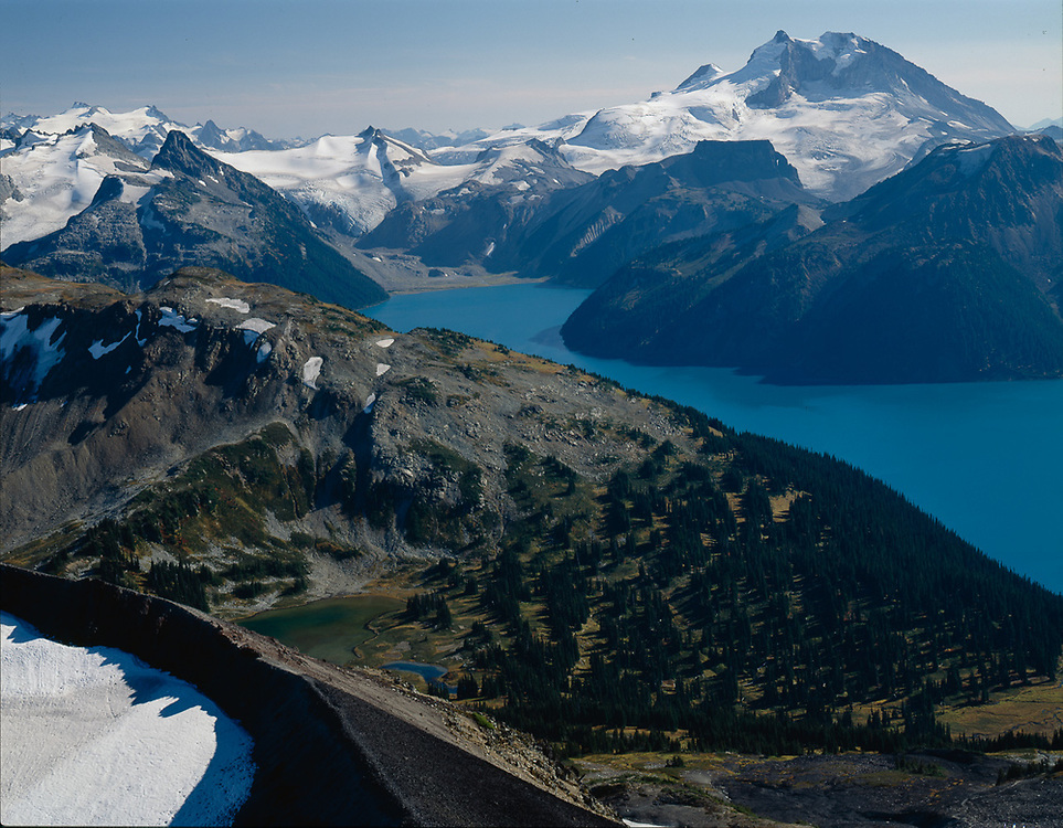 Lake Garibaldi, late summer, Garibaldi Provincial Park, British Columbia,  Canada