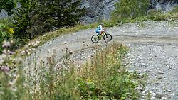 13-09-2017 FRA: BvdGF Tour du Mont Blanc day 4, Trient<br /> Van Chamonix naar Trient. <br /> Gorka