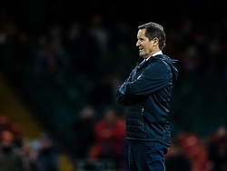 Barbarians Coach Robbie Deans<br /> <br /> Photographer Simon King/Replay Images<br /> <br /> Friendly - Wales v Barbarians - Saturday 30th November 2019 - Principality Stadium - Cardiff<br /> <br /> World Copyright © Replay Images . All rights reserved. info@replayimages.co.uk - http://replayimages.co.uk