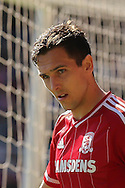 Middlesbrough midfielder Stewart Downing during the Sky Bet Championship match between Middlesbrough and Leeds United at the Riverside Stadium, Middlesbrough, England on 27 September 2015. Photo by Simon Davies.