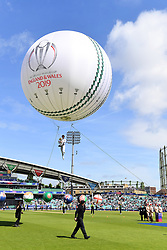 General view ahead of the opening match of the 2019 ICC Cricket World Cup between England and South Africa at The Oval in London.