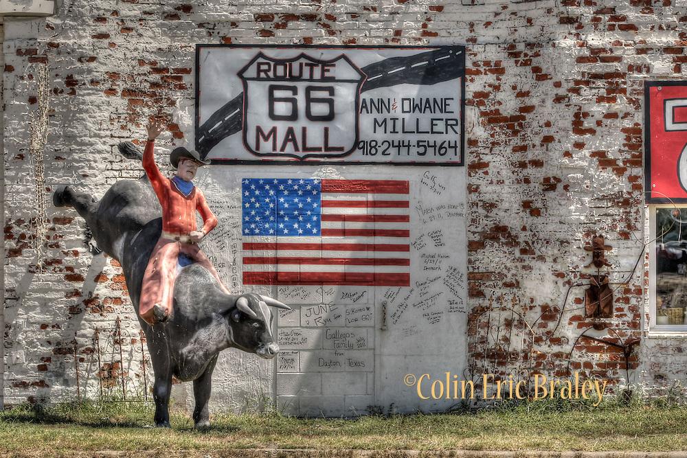 Along Route 66 in Missouri, Kansas, Oklahoma, Aug. 9, 2011. Colin E Braley/wildwest-media.com