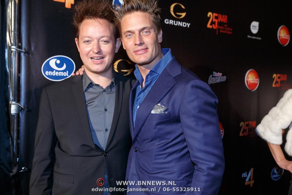 NLD/Amsterdam/20151001 - 25 Jaar Goede Tijden Slechte Tijden, Rop verheijen en Winston Post
