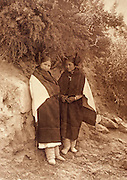 NATIVE AMERICANS E. Curtis photograph, early 20th century, At the Trysting Place