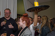 RICHARD MORTIMER; KIMI O'NEILL, OPENING OF 'THE CONVENIENCE STORE' AT ST. MARTIN'S LANE HOTEL. London. 19 March 2009