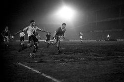File photo dated 03-02-1960 of Tottenham Hotspur Les Allen, (left) scores the ninth goal of the game against Crewe