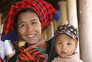 Myanmar, Shan state, Inle lake, Indein Village
