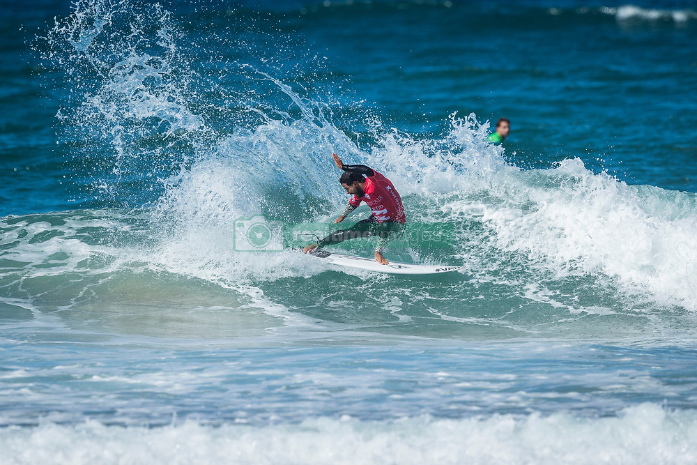 Tomas Hermes (BRA) placed 2nd in Heat 14 of round Two in EDP Billabong Pro Cascais 2017