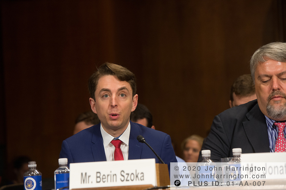 """Mr. Berin Szoka, President, TechFreedom testifies Wednesday September 14, 2016, before the Subcommittee on Oversight, Agency Action, Federal Rights and Federal Courts, testimony was also heard from The Honorable Lawrence E. Strickling, Assistant Secretary for Communications and Information and Administrator<br /> National Telecommunications and Information Administration (NTIA), United States Department of Commerce;  Mr. Göran Marby, CEO and President, Internet Corporation for Assigned Names and Numbers (ICANN); Mr. Berin Szoka, President, TechFreedom; Mr. Jonathan Zuck, President, ACT The App Association;  Ms. Dawn Grove, Corporate Counsel<br /> Karsten Manufacturing; Ms. J. Beckwith (""""Becky"""") Burr, Deputy General Counsel and Chief Privacy Officer, Neustar;  Mr. John Horton, President and CEO, LegitScript;  Mr. Steve DelBianco, Executive Director, NetChoice; Mr. Paul Rosenzweig, Former Deputy Assistant Secretary for Policy, U.S. Department of Homeland Security."""