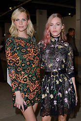 Poppy Delevingne and Lady Mary Charteris attending the Giambattista Valli Fashion Show as part of Paris Fashion Week Womenswear Spring - summer 2019 held in Paris, France on october 01, 2018. Photo by Aurore Marechal/ABACAPRESS.COM