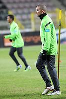 20120227: WARSZAWA, POLAND -<br /> Portugal national football team training session in Warszawa, Poland.<br /> In photo: Pepe.<br /> PHOTO: CITYFILES