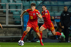 TALLINN, ESTONIA - Monday, October 11, 2021: Wales' Connor Roberts during the FIFA World Cup Qatar 2022 Qualifying Group E match between Estonia and Wales at the A. Le Coq Arena. Wales won 1-0. (Pic by David Rawcliffe/Propaganda)