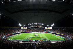 A general view of the Sapporo Dome ahead of the 2019 Rugby World Cup Pool D match at Sapporo Dome.