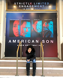 """Kerry Washington releases a photo on Instagram with the following caption: """"\u2764\ufe0f SWIPE! #americansonplay \nTrying to figure out how to say goodbye to this beautiful Booth theater... this place has been my home, my office, my temple, my playground, my classroom, my mirror, my microphone, my healer, my protector, my arena, my dream come true... this has been a phenomenal ride. Let\u2019s go do this one last time.... #FINALPERFORMANCE \n@netflix you got next! \ud83d\ude0d"""". Photo Credit: Instagram *** No USA Distribution *** For Editorial Use Only *** Not to be Published in Books or Photo Books ***  Please note: Fees charged by the agency are for the agency's services only, and do not, nor are they intended to, convey to the user any ownership of Copyright or License in the material. The agency does not claim any ownership including but not limited to Copyright or License in the attached material. By publishing this material you expressly agree to indemnify and to hold the agency and its directors, shareholders and employees harmless from any loss, claims, damages, demands, expenses (including legal fees), or any causes of action or allegation against the agency arising out of or connected in any way with publication of the material."""
