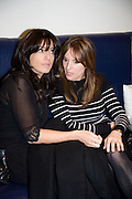 CLAUDIA WINKLEMAN AND EMILY OPPENHEIMER-TURNER, Lisa B celebrates  publication of  Lisa B's Lifestyle Essentials, a guide on how to 'get the most out of life'. Hotel Intercontinental, Park Lane, London, W1. 10 April 2008.  *** Local Caption *** -DO NOT ARCHIVE-© Copyright Photograph by Dafydd Jones. 248 Clapham Rd. London SW9 0PZ. Tel 0207 820 0771. www.dafjones.com.