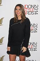 Luisa Zissman, London Lifestyle Awards 2014, The Troxy, London UK, 08 October 2014, Photo By Brett D. Cove