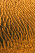 Sand Patterns on Sand Dune, Death Valley National Park, California