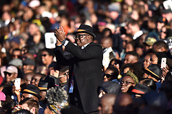 Guests starts arriving in numbers at the Bidvest Wanderers Stadium were former US president Barack Obama is expected to deliver the annual Nelson Mandela lecture, Gauteng.<br />Picture: Itumeleng English/African News Agency (ANA)